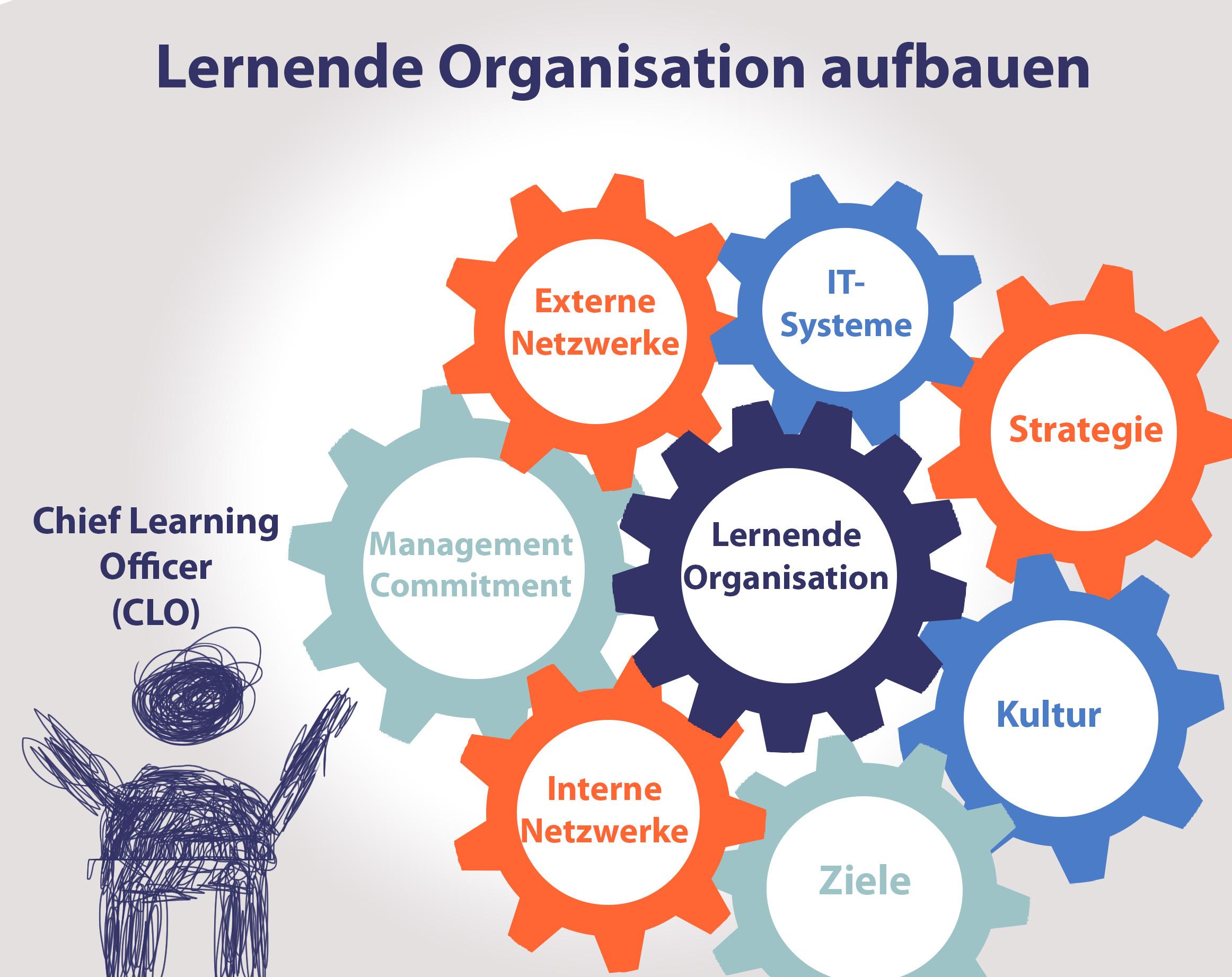 Lernende Organisation aufbauen